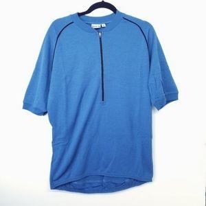 Ibex wool short sleeve cycling jersey Sz XL